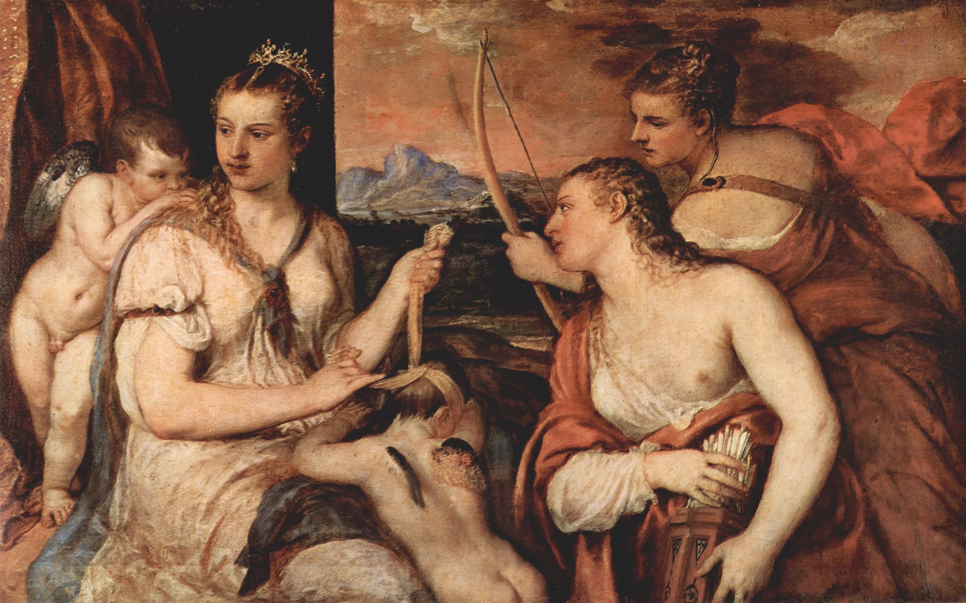 Липовый Тициан и настоящий Тициан