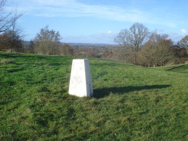 Trig Point on the Old Hills - geograph.org.uk - 623246
