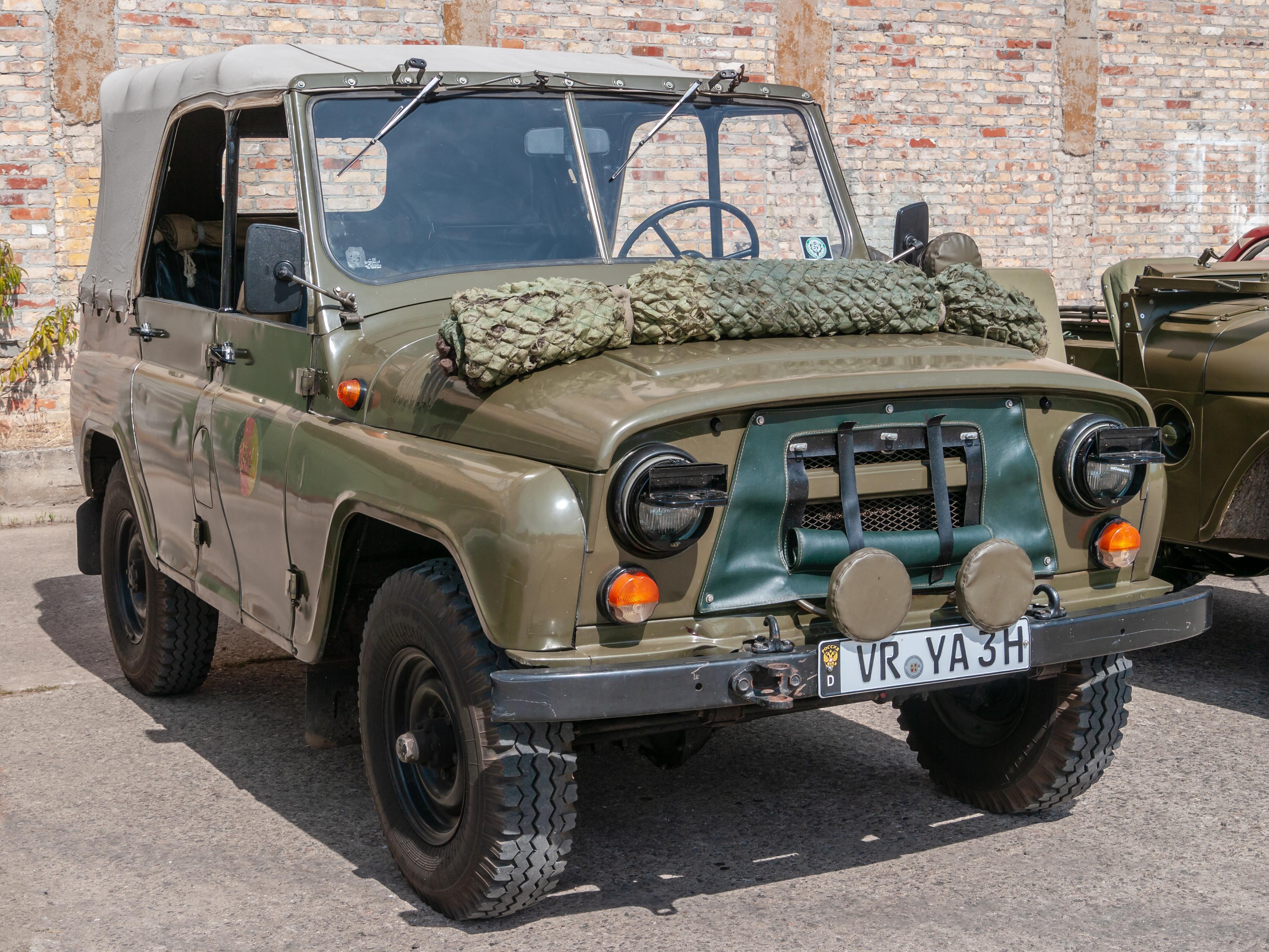 File:UAZ-469, 12. Internationales Maritimes-Fahrzeugtreffen,  Ribnitz-Damgarten