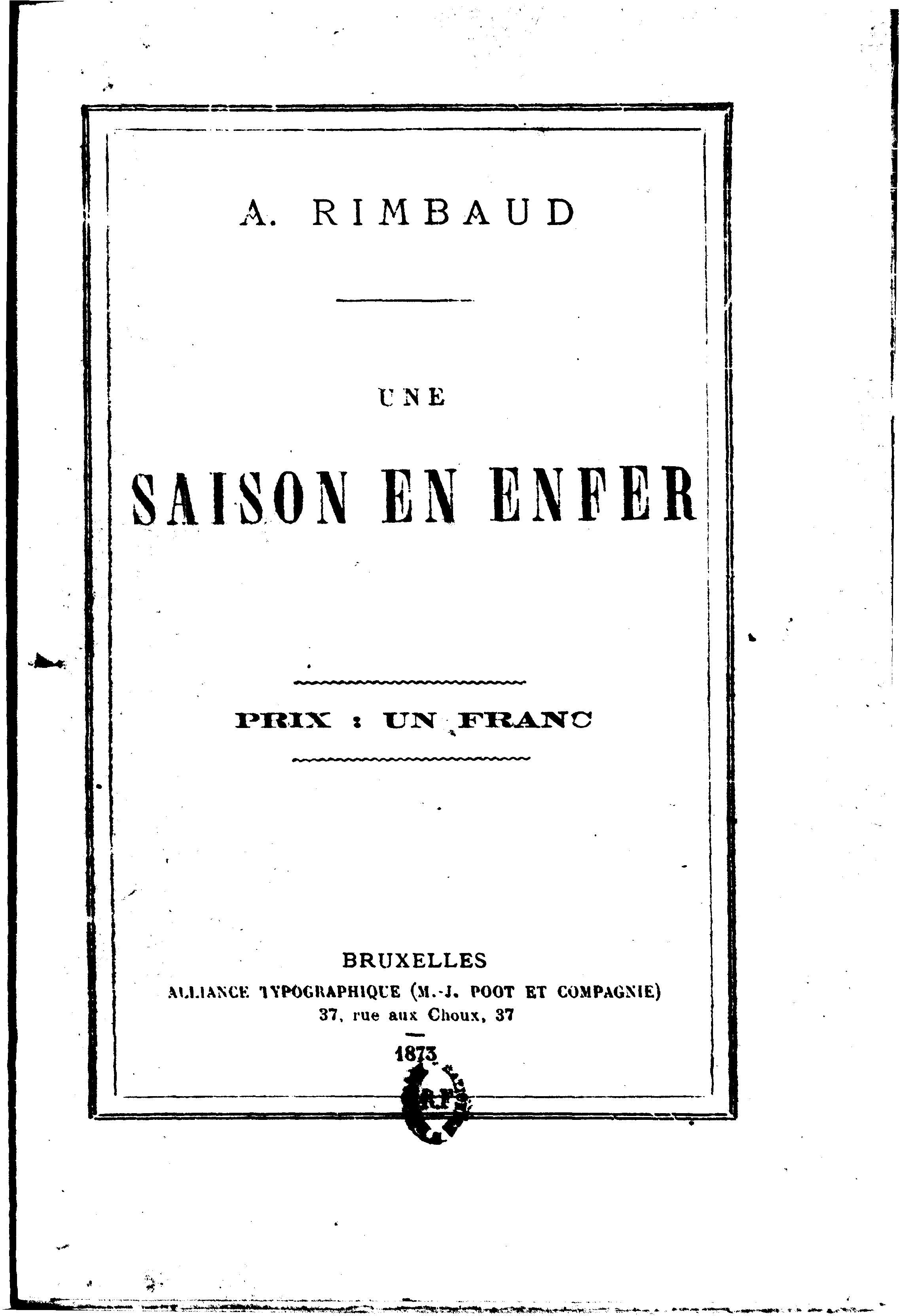 Fileune Saison En Enfer 01jpg Wikimedia Commons