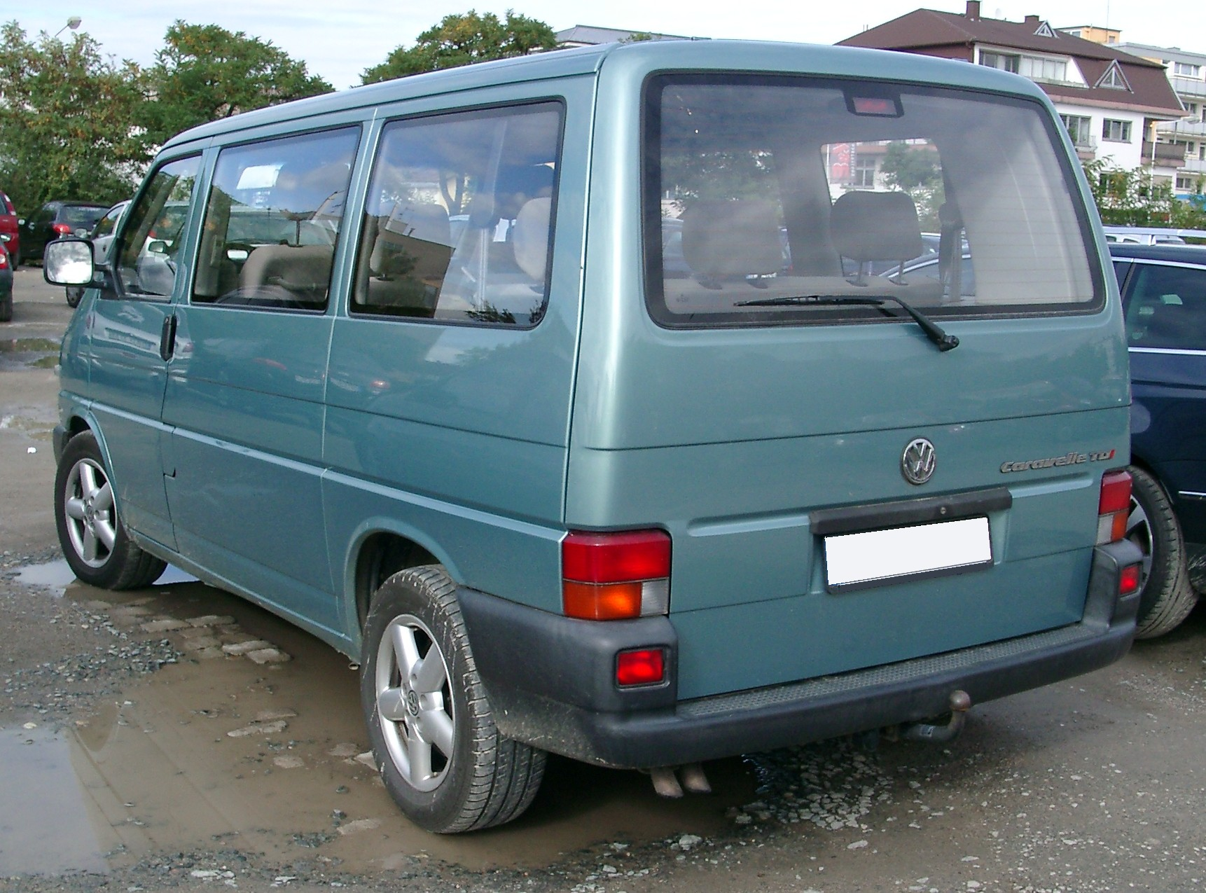 File Vw T4 Rear 20070926 Jpg Wikimedia Commons