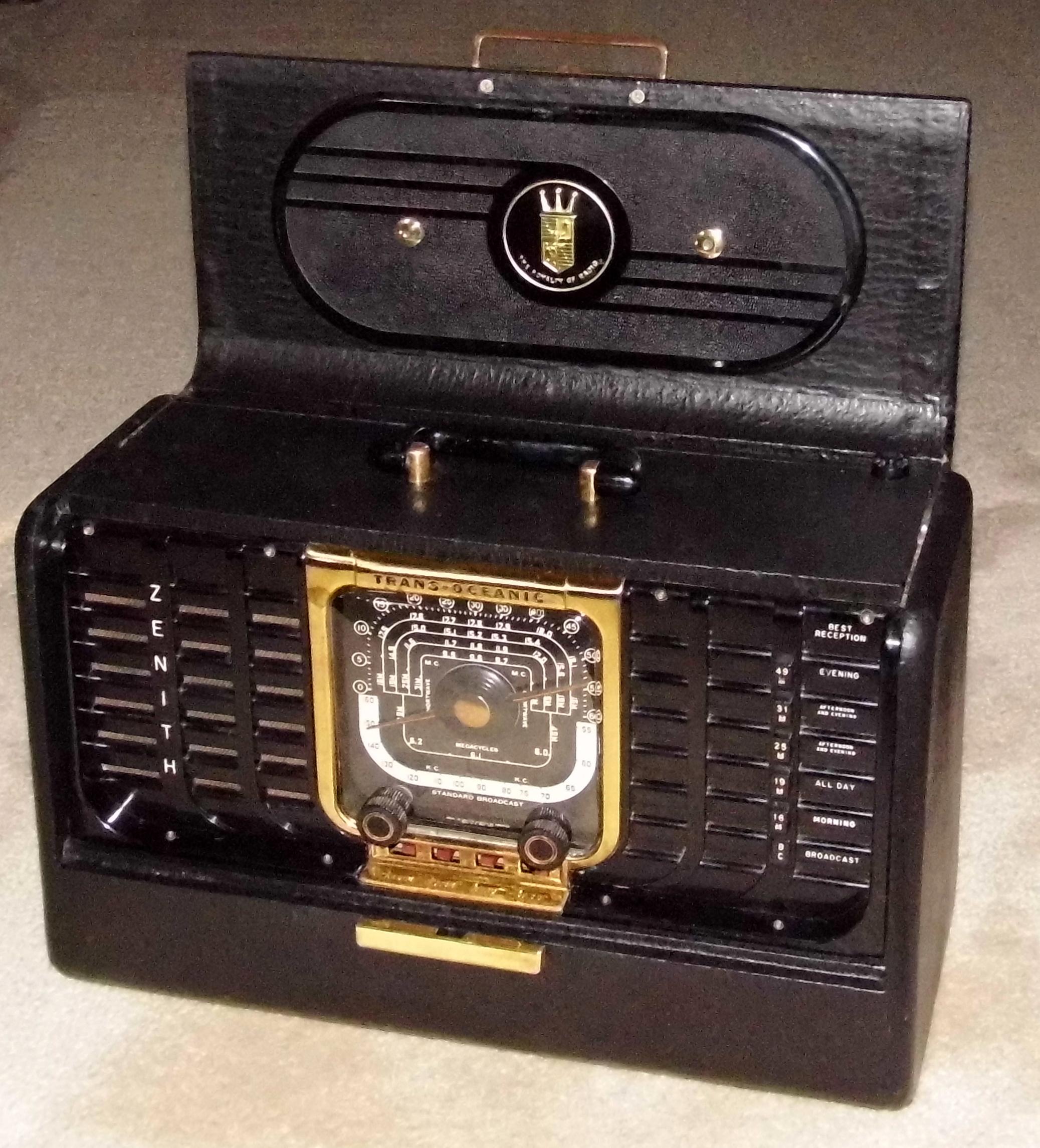 By zenith radio year models Radio Attic's