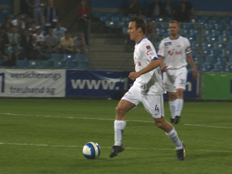 Steve von Bergen, Cup Halbfinale, 26. April 2007, FCZ - FCL 2:3