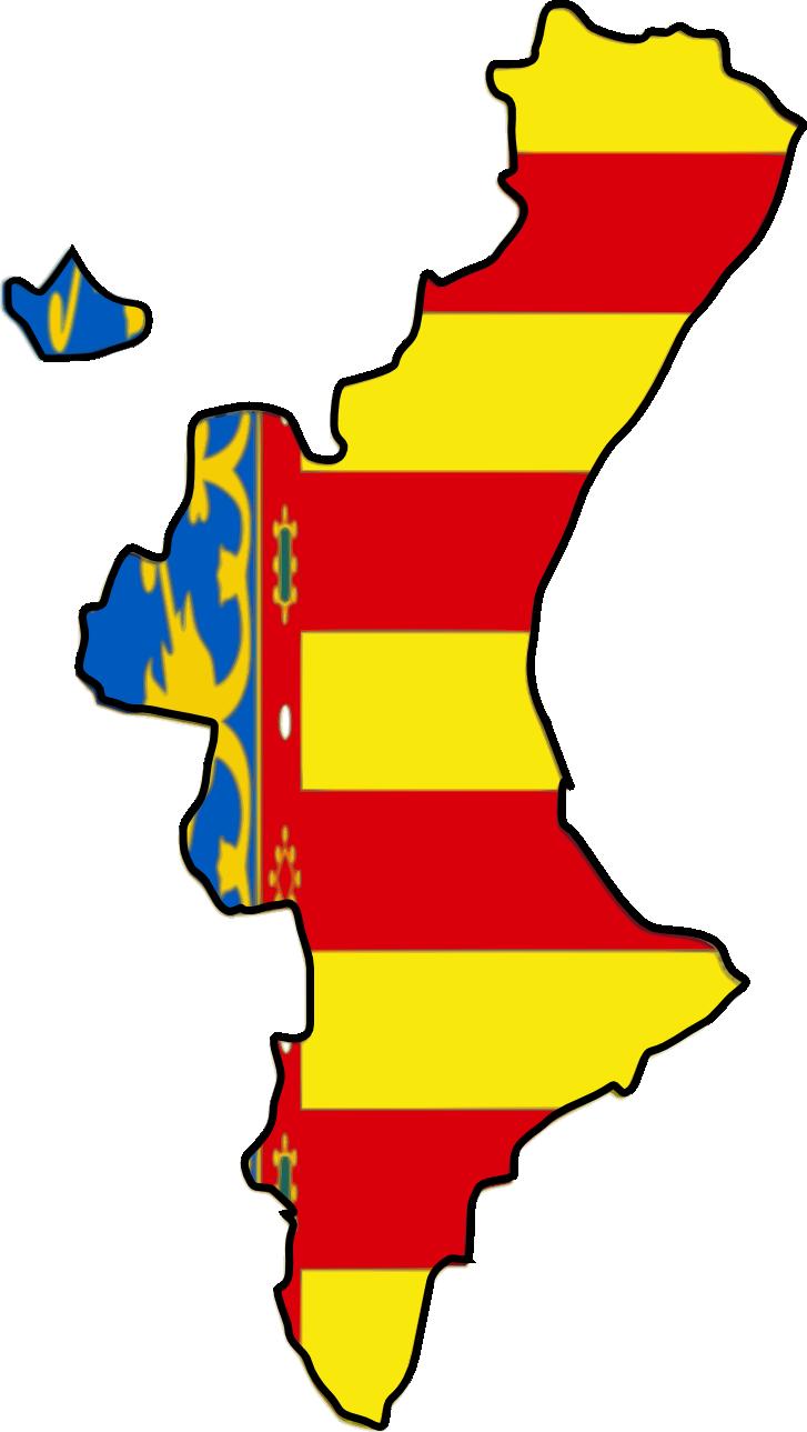 Resultado de imagen de comunidad valenciana bandera escudo