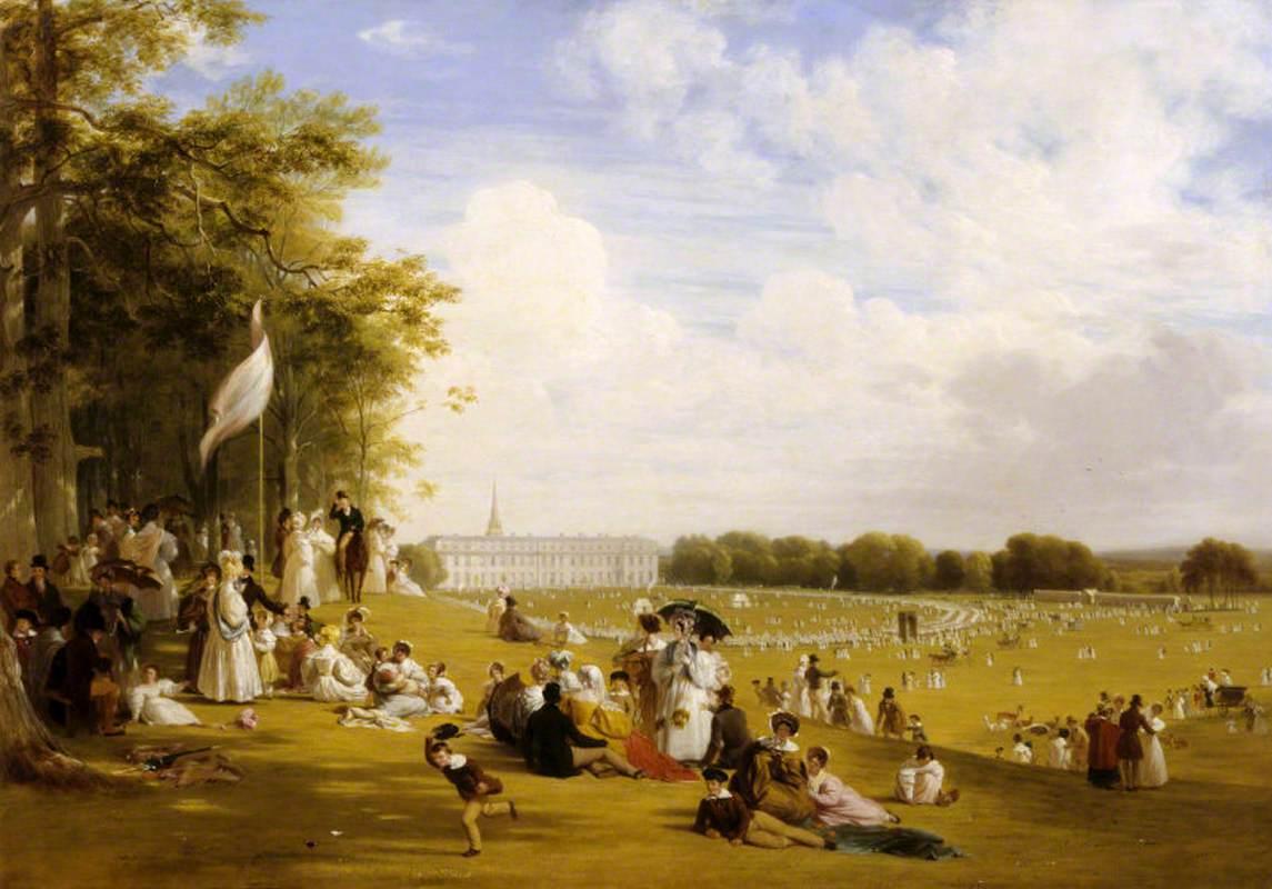 William Frederick Witherington (1785-1865) - Fête in Petworth Park, 1835 - 486139 - National Trust.jpg