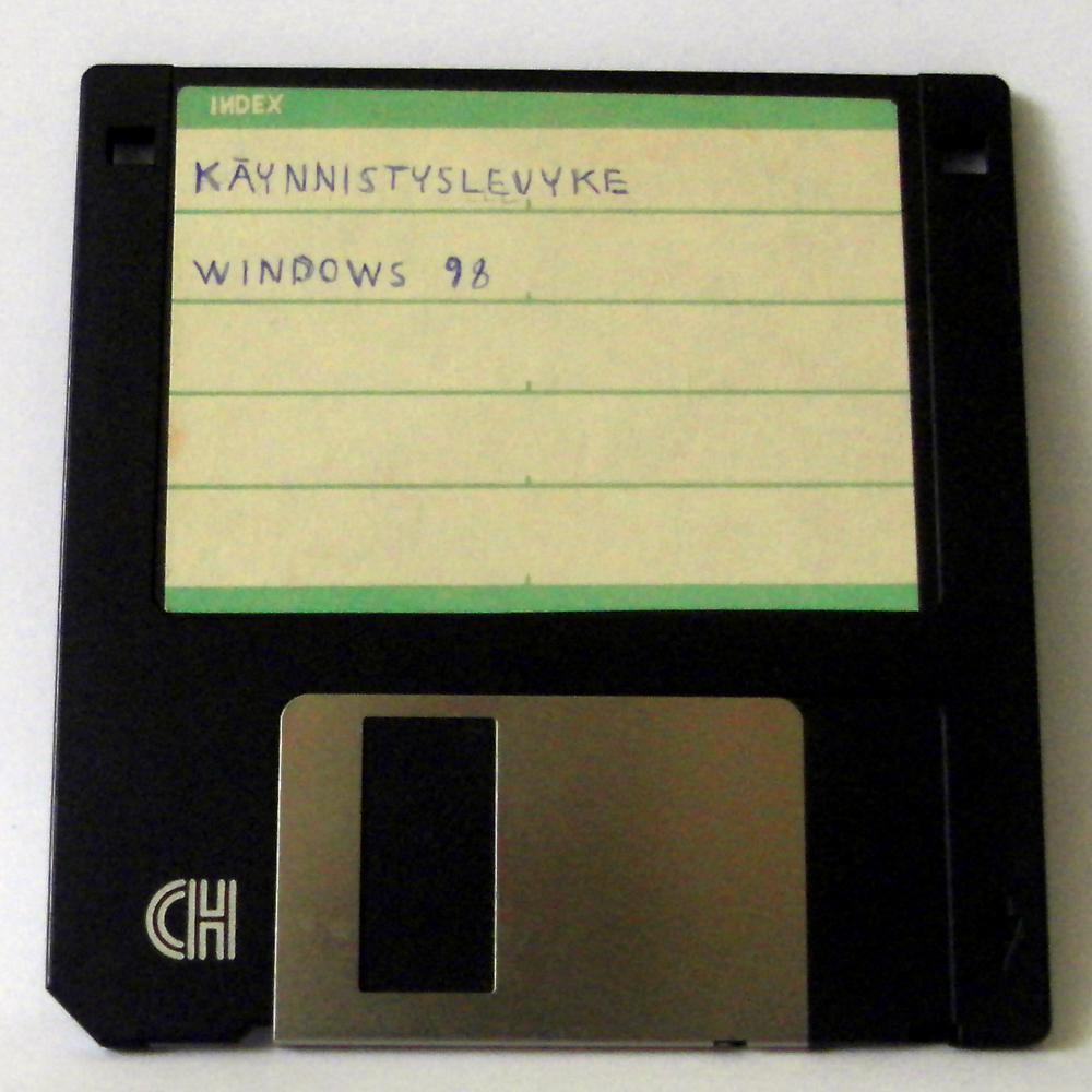 File:Windows 98 Boot Disk png - Wikimedia Commons