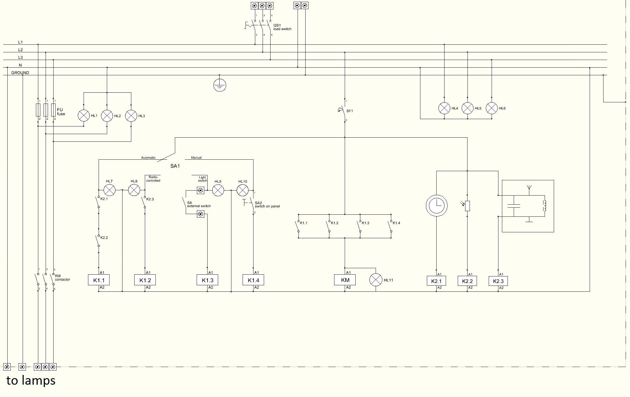 Control Wiring Diagram - Wiring Diagram Online on industrial motor control, industrial electrical wiring diagrams, industrial electrical panel wiring,