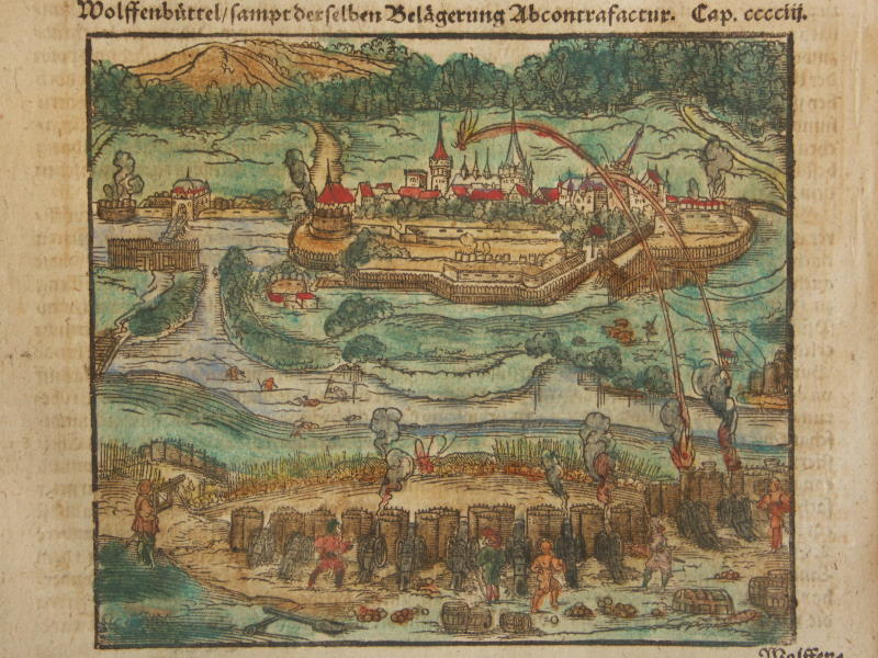 Wolfenbuettel, Saxony, under attack (1600).jpg