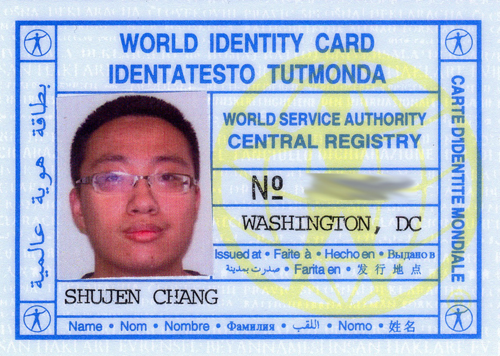 FileWorld Id Card FrontJpg  Wikimedia Commons
