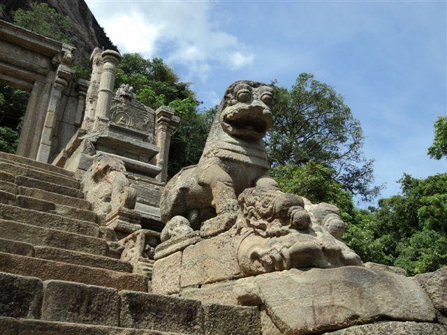 Yapahuwa Lion sculpture