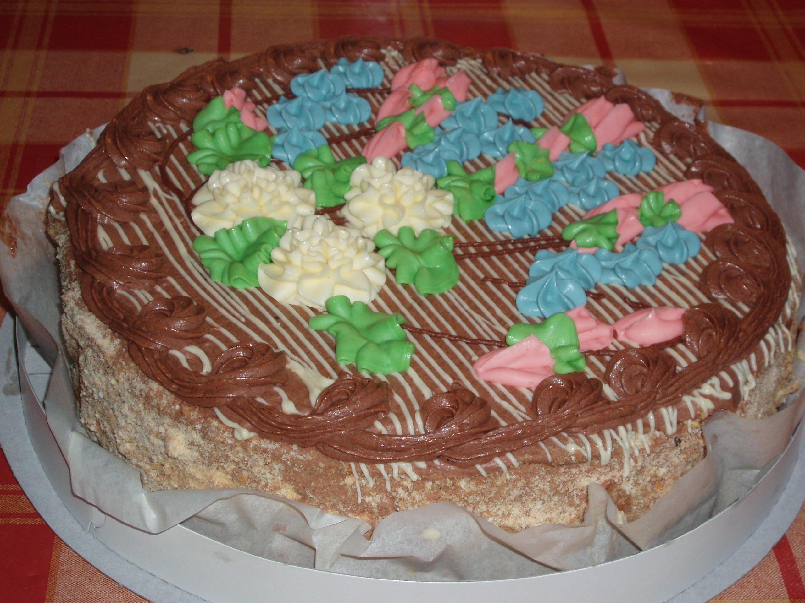 Ukrainian Kiev Cake