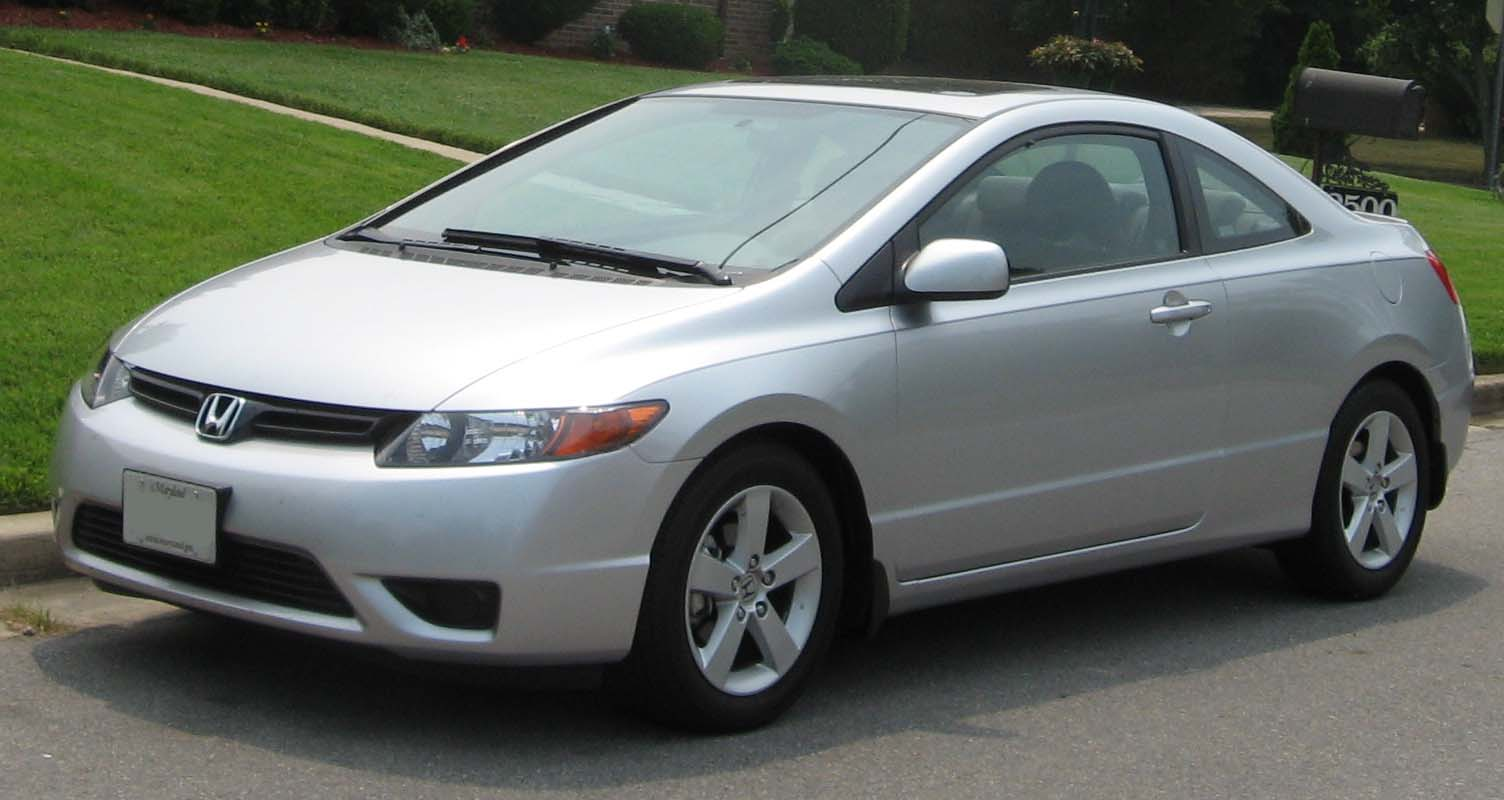 2006 2008 honda civic ex coupe us
