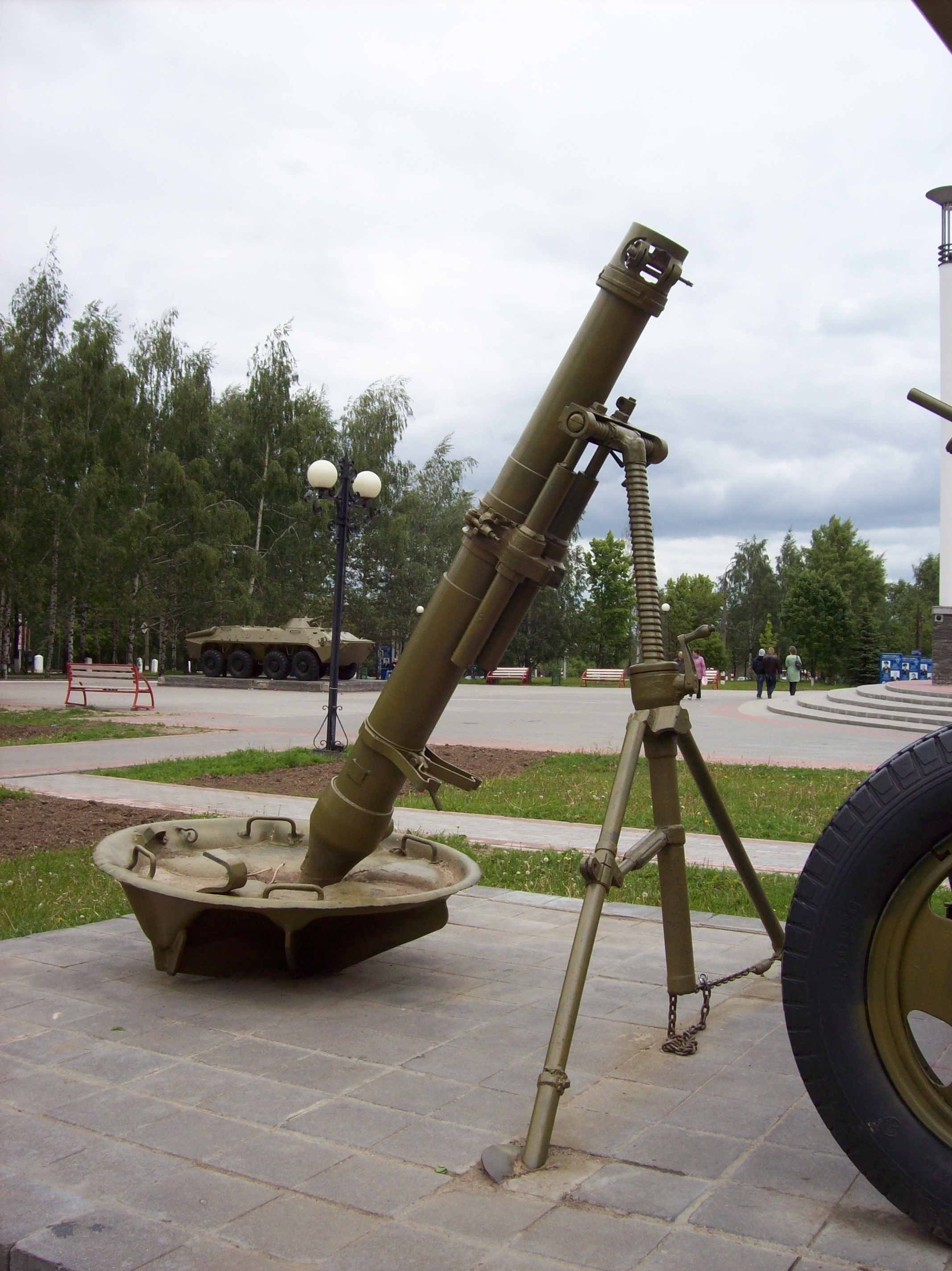 Russian 120mm Mortar : Pm mortar military wiki fandom powered by wikia