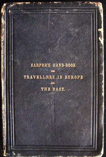 Harper S Hand Book For Travellers Wikipedia