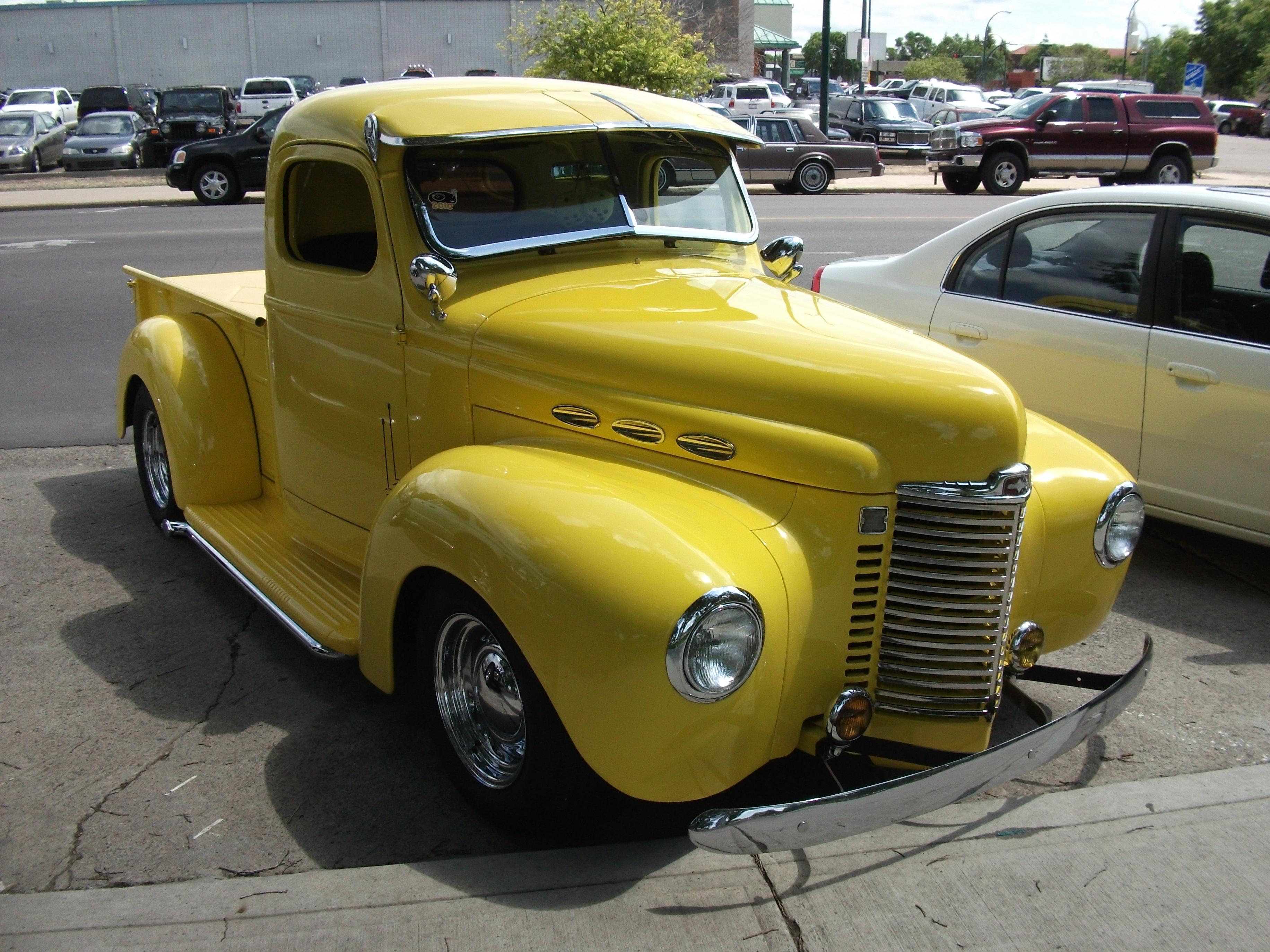 File 1947 International Harvester Pickup Truck 4798640375 Jpg Wikimedia Commons