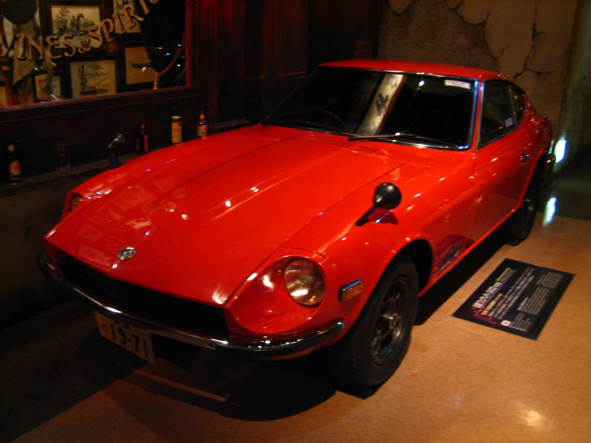 Nissan Fairlady Z >> File:1971 Nissan Fairlady Z 432 PS30, Megaweb History ...