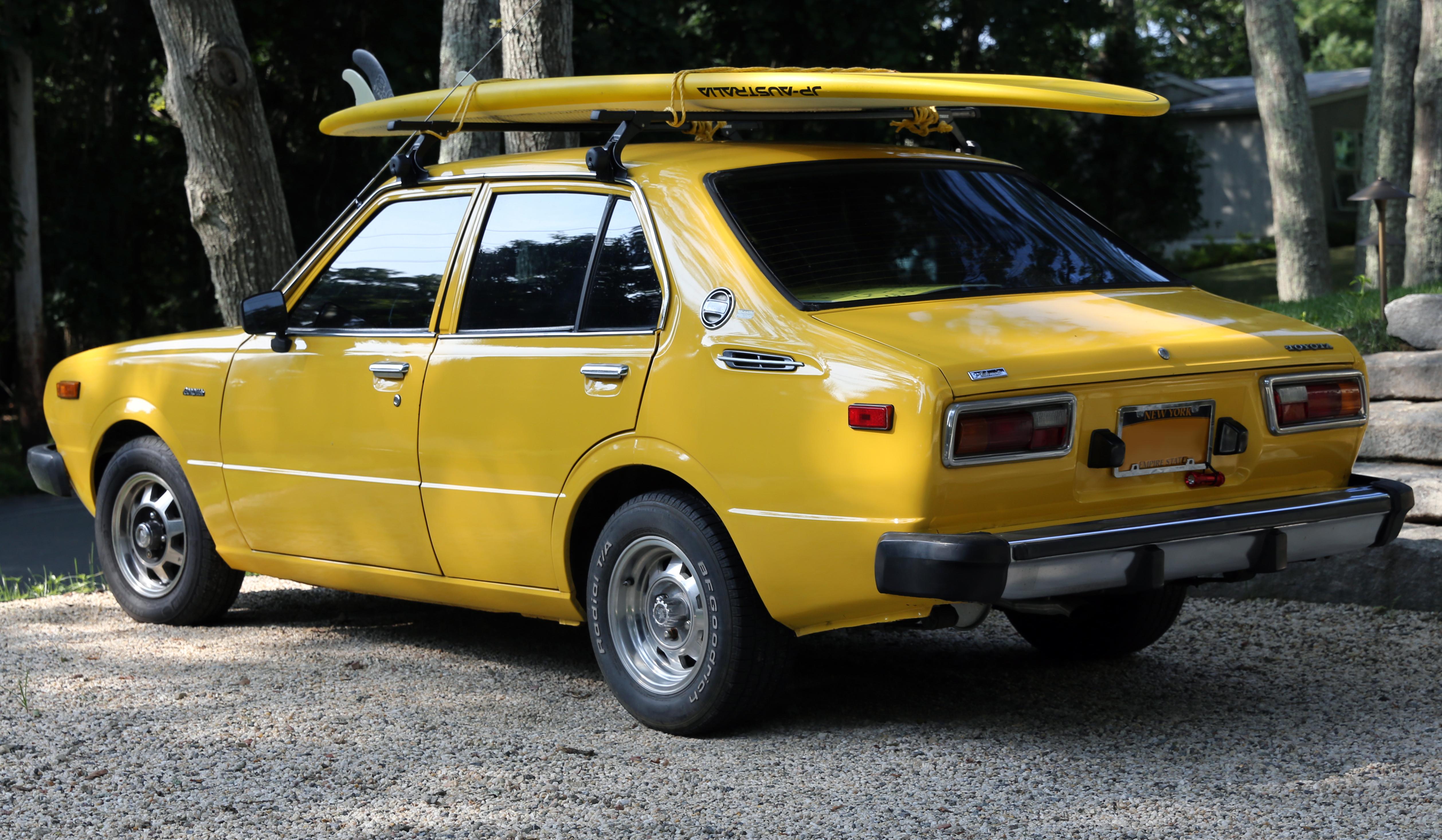 File 1978 Toyota Corolla Te31 Special 4 Door Rear Jpg