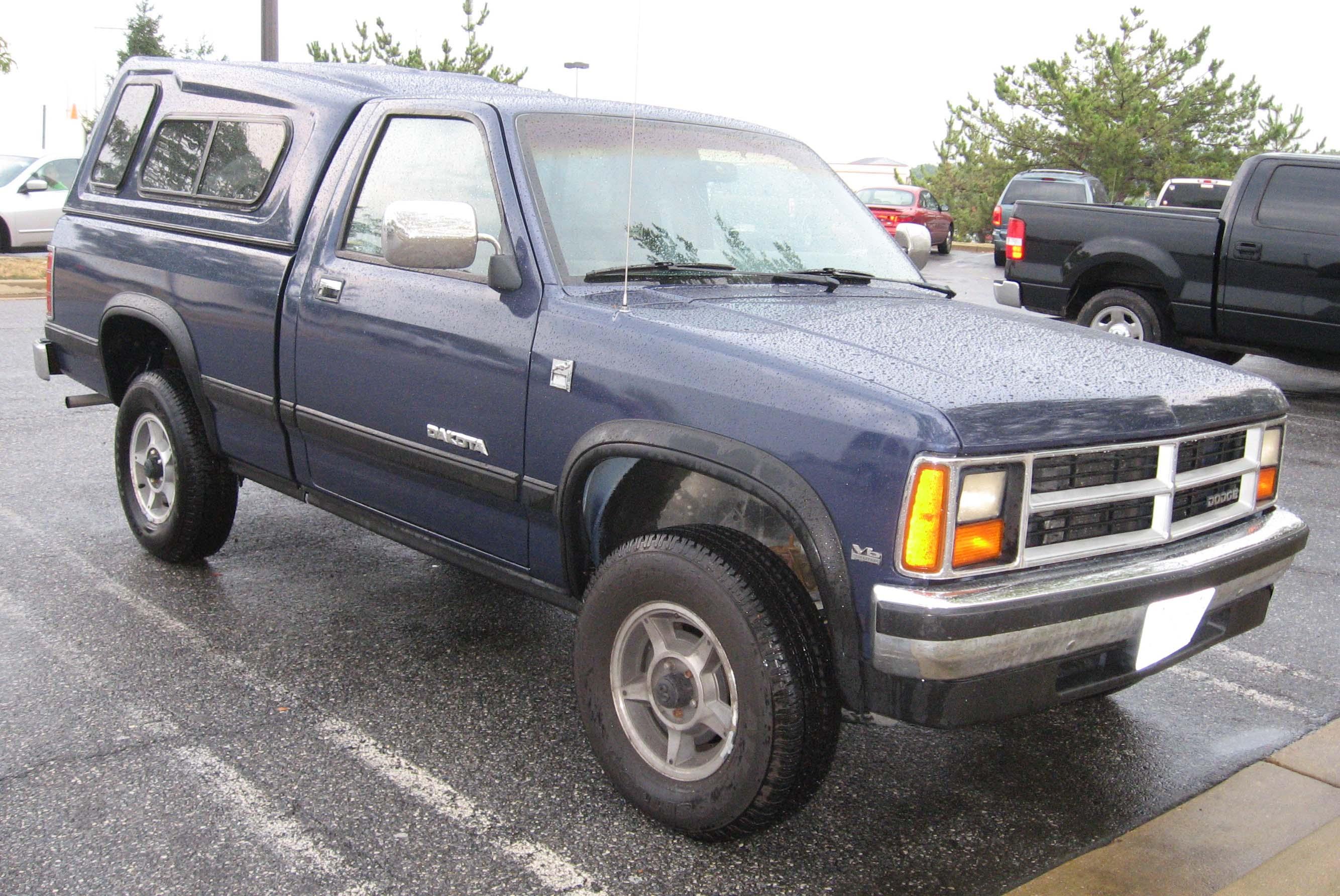 File:1987-90 Dodge Dakota.jpg - Wikimedia Commons