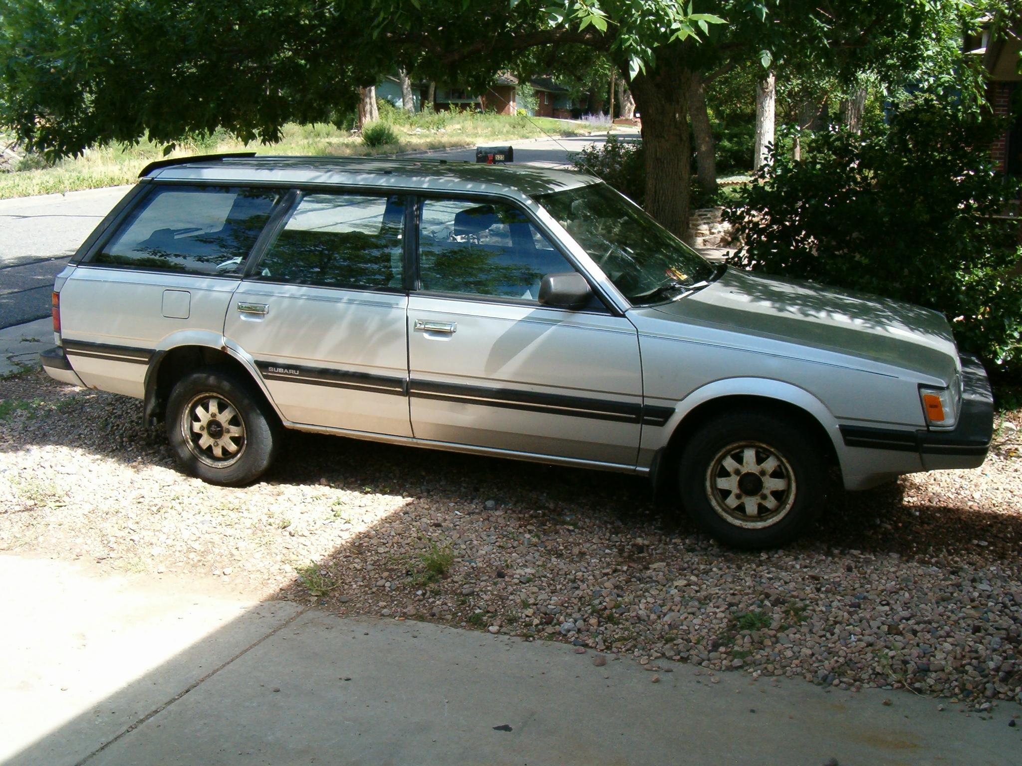 File 1988 Subaru Gl Wagon Jpg