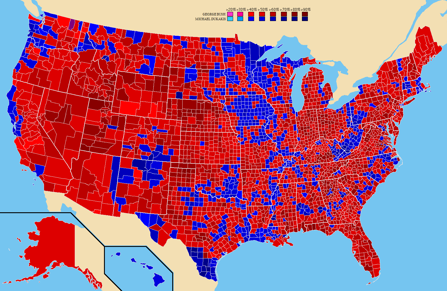 United States Presidential Election 1988 Wikiwand