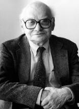 English: Milton Babbitt in Juilliard School of...