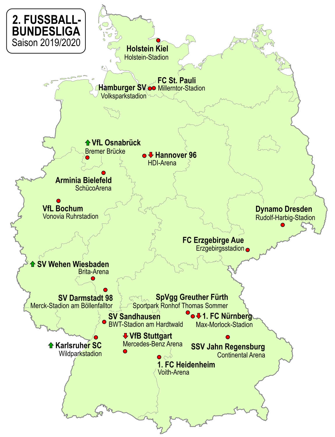2 Fussball Bundesliga 2019 20 Wikipedia