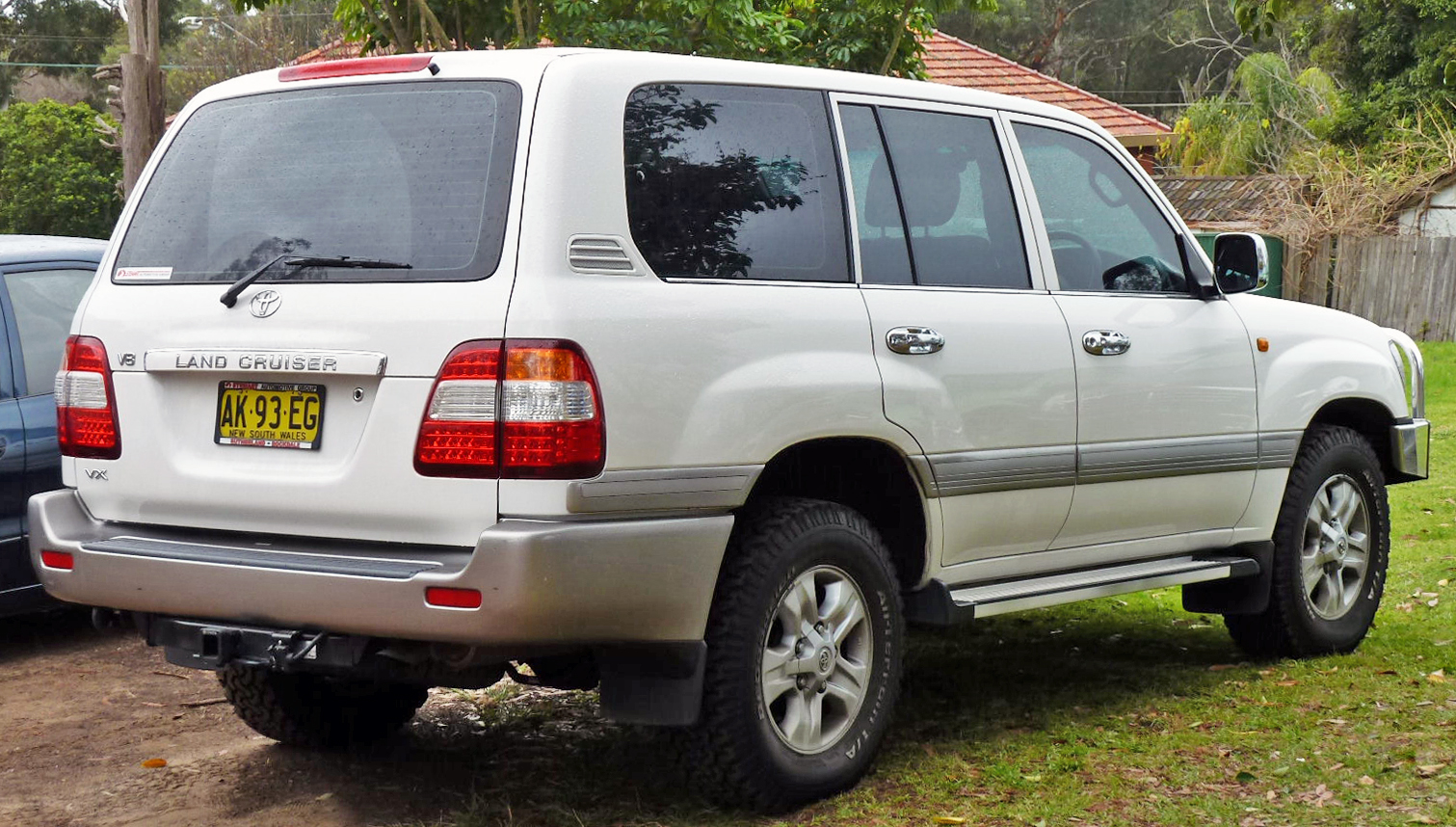 2006 toyota landcruiser wagon