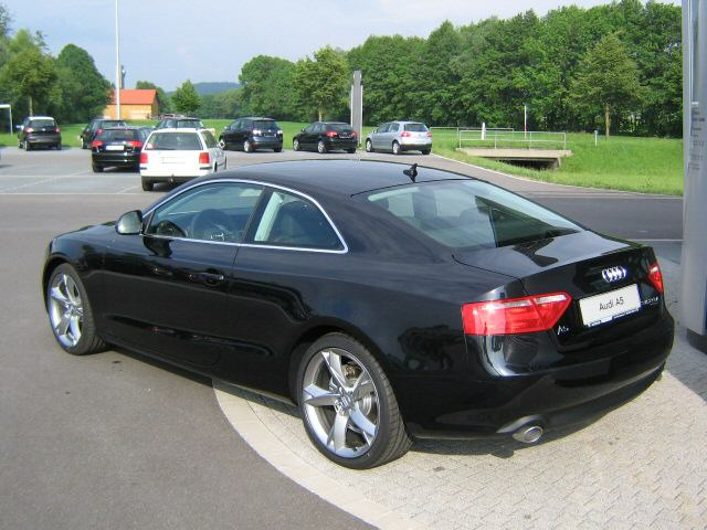 File 2007 Audi A5 Rear Jpg Wikimedia Commons