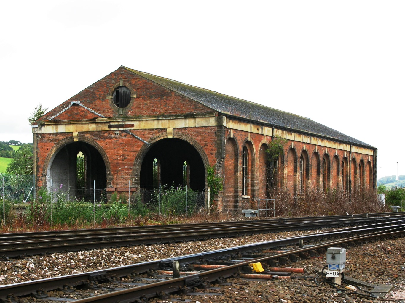 File 2008 At Exeter St Davids Transfer Shed Jpg Wikimedia Commons