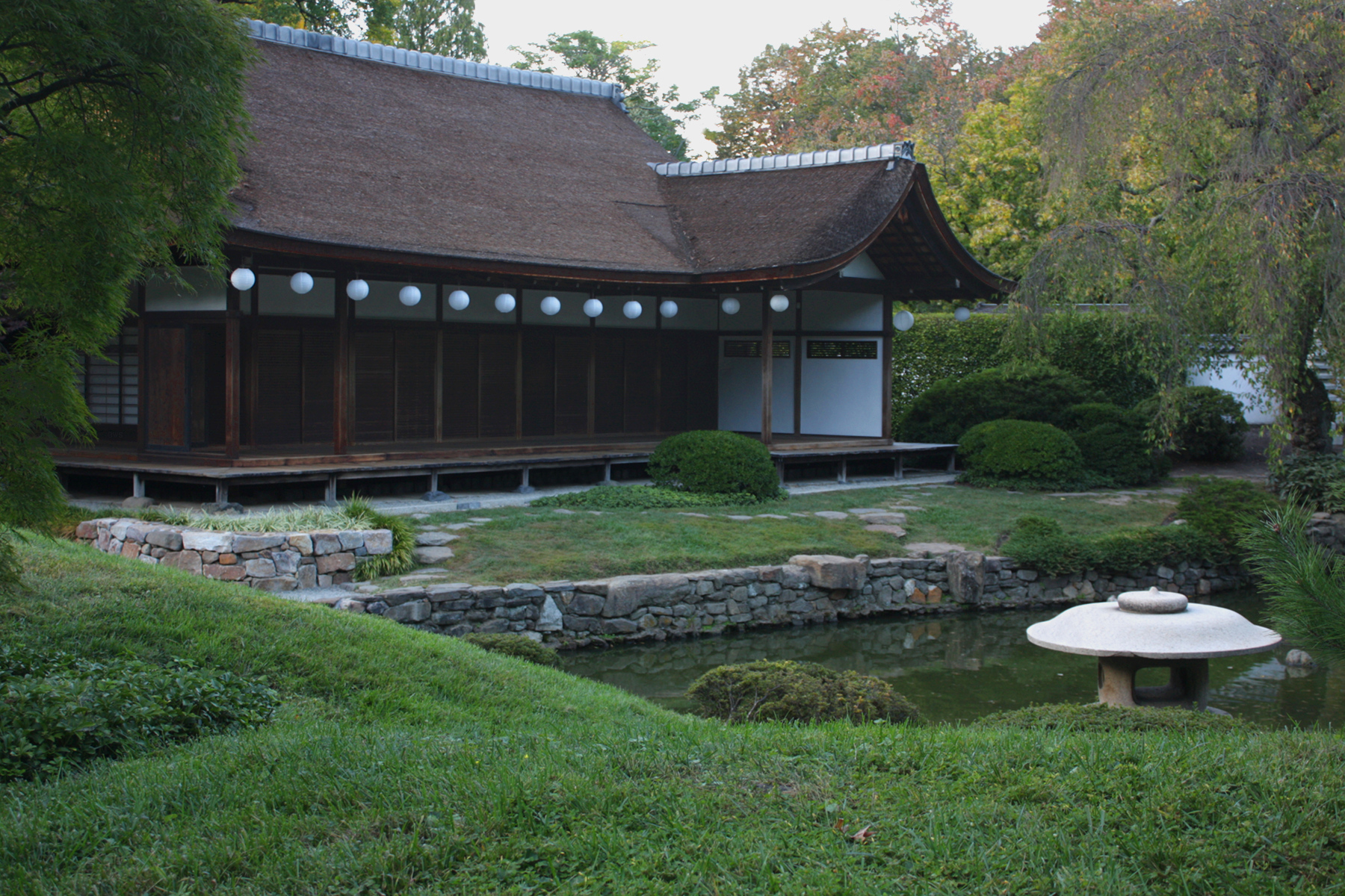 File A579 Shofuso Japanese House And Garden Fairmount Park Philadelphia Pennsylvania United