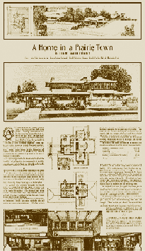A Home in a Prairie Town – Ladies Home Journal, Feb 1901