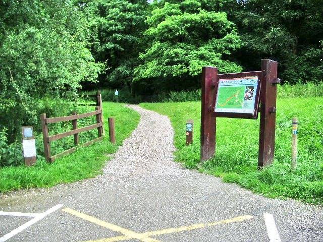 Access for All Trail - geograph.org.uk - 486101