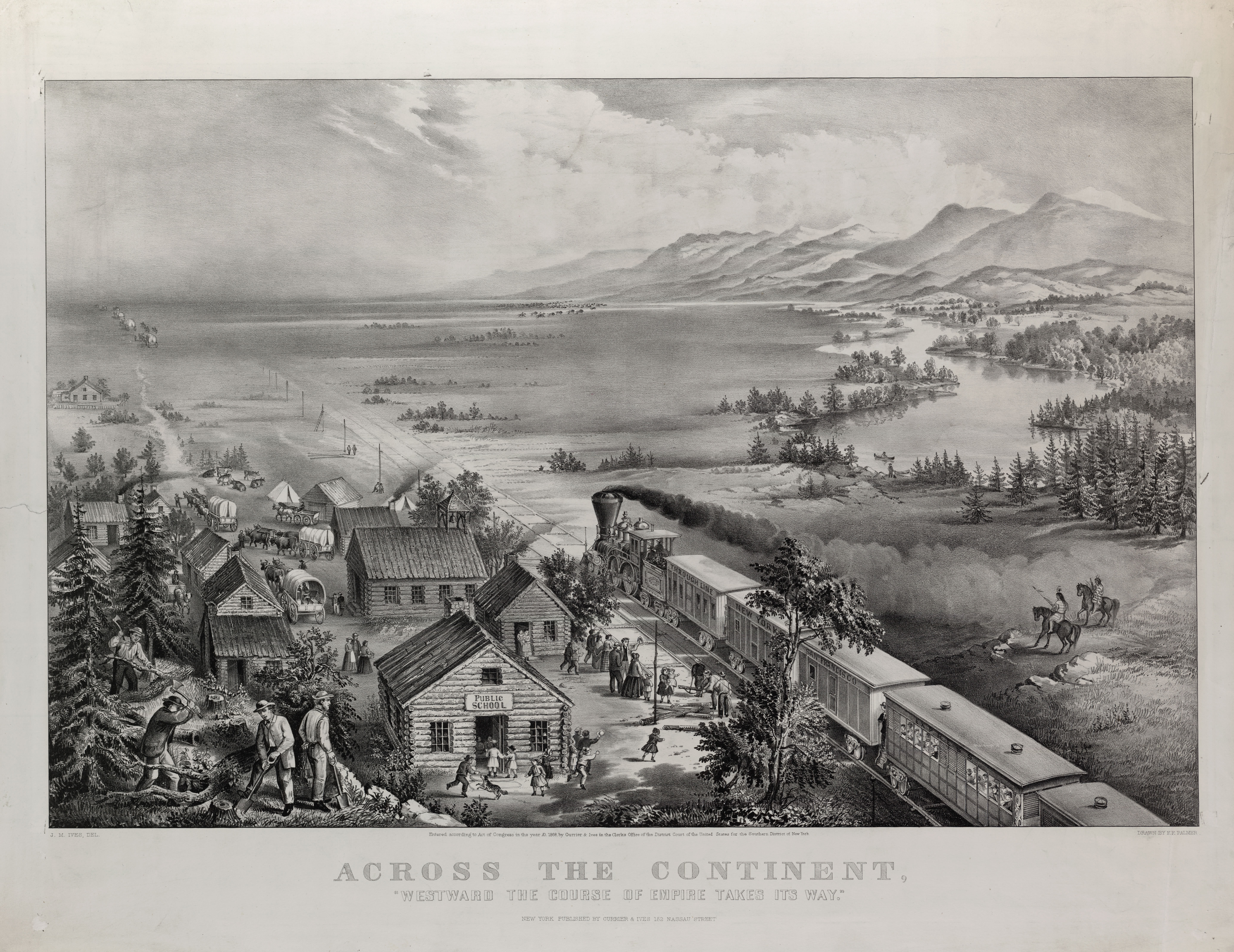 Currier & Ives, 1868