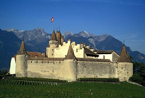 Aigle - castle