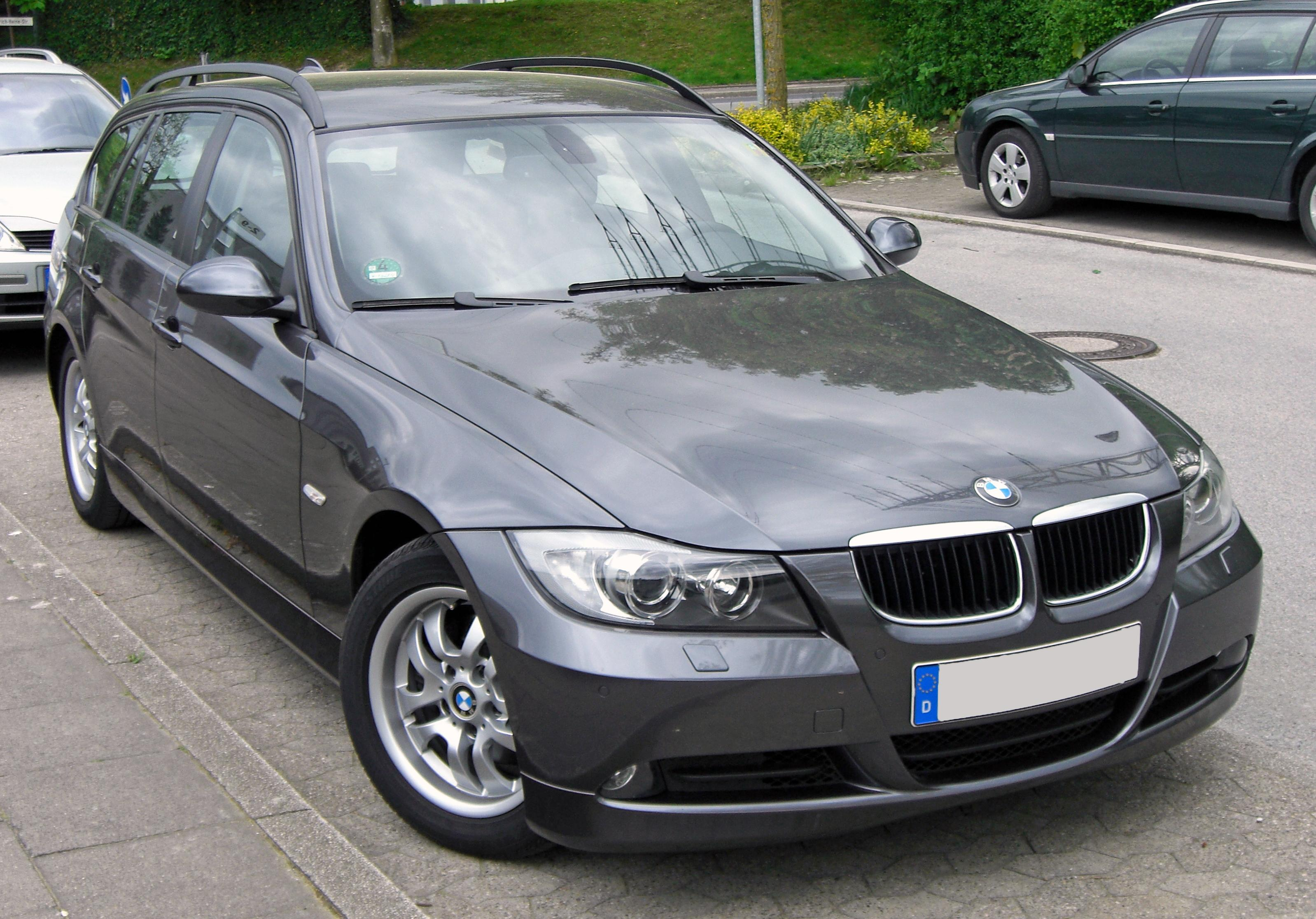 Bmw E90 Wiki >> File:BMW 3er Touring E91 20090425 front.JPG - Wikimedia Commons
