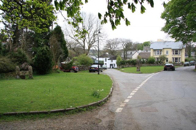 Belstone Village Green - geograph.org.uk - 1273541