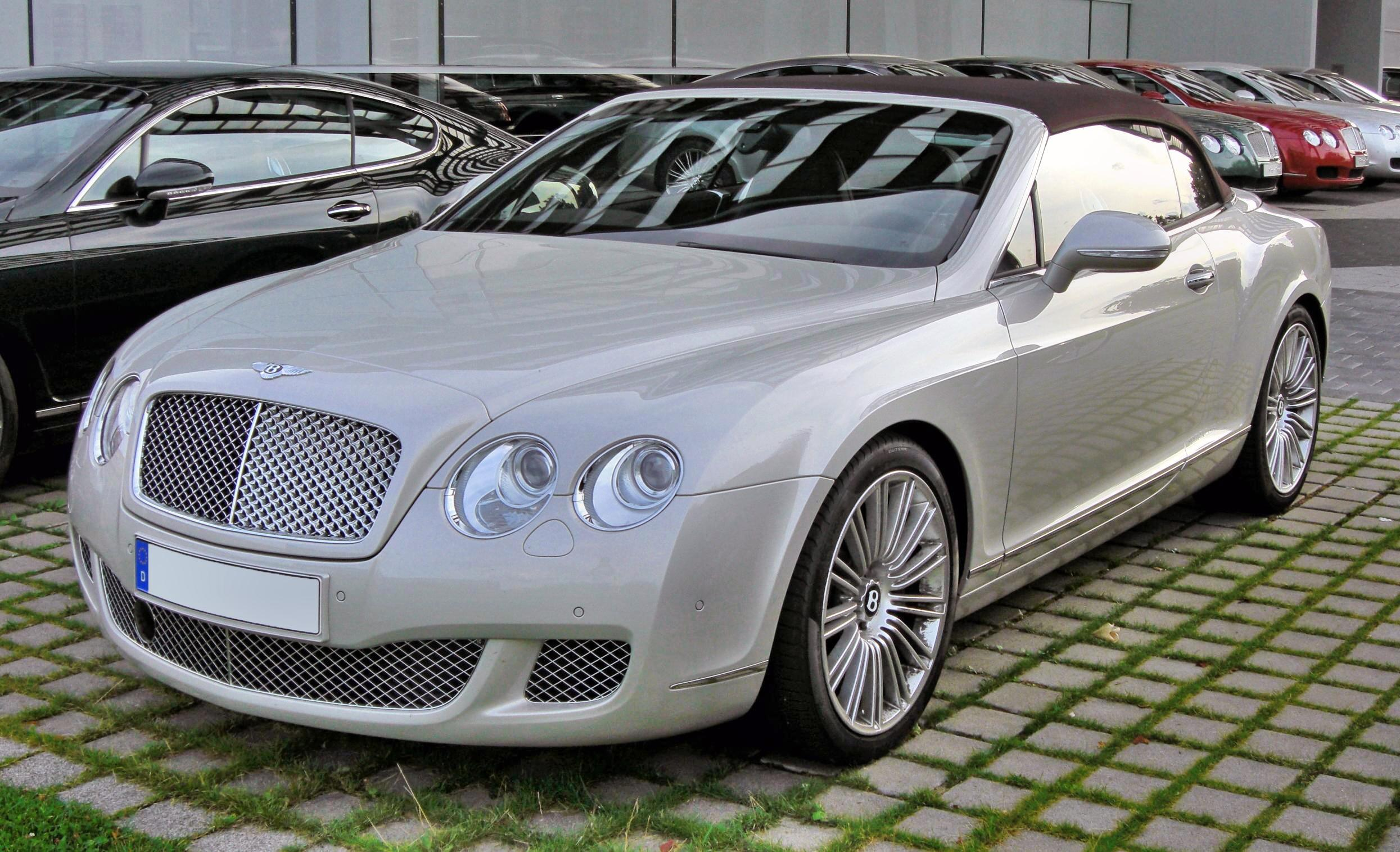 File Bentley Continental Gtc Speed 20090720 Front 1 Jpg