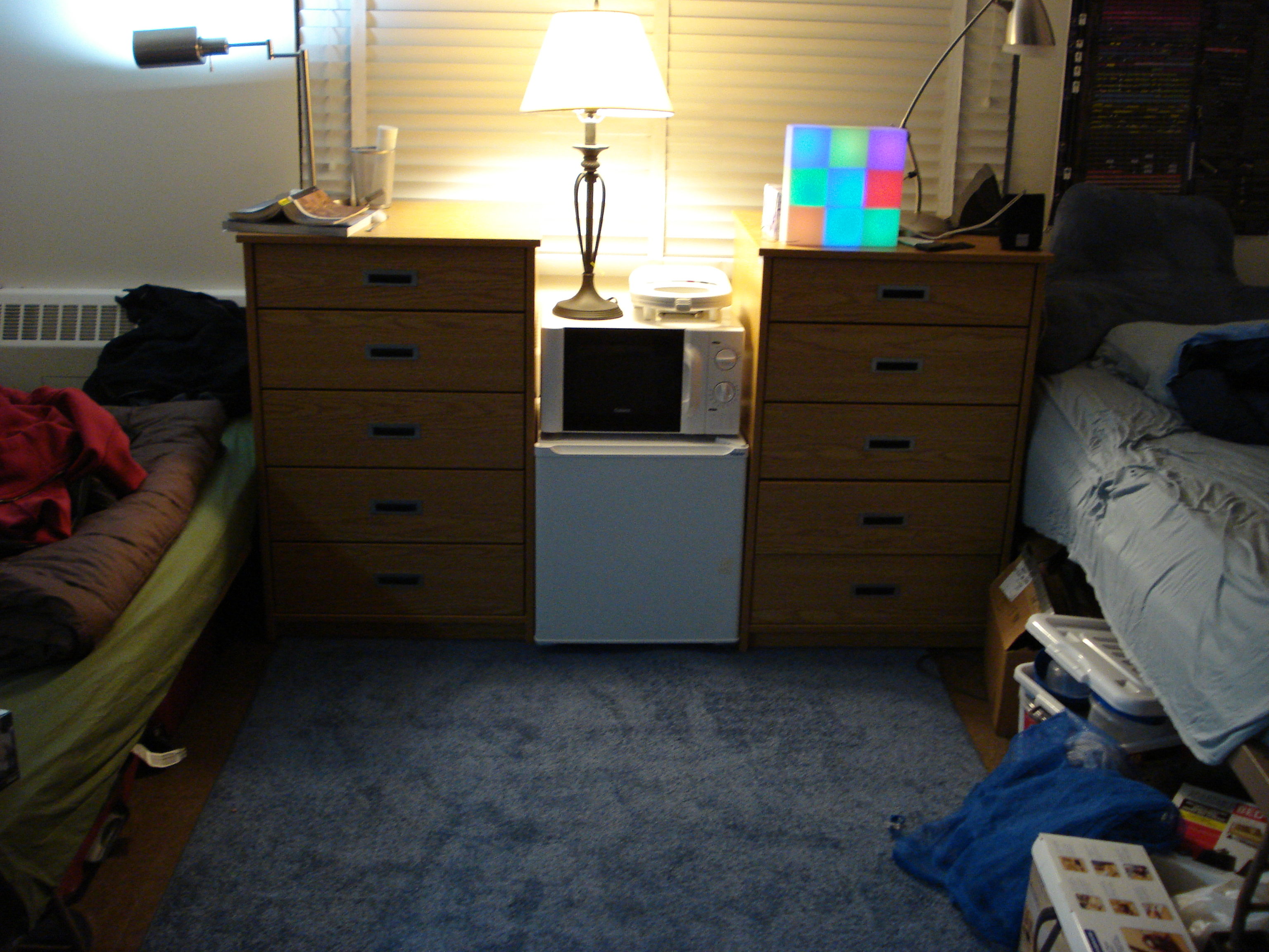 Dorm Room Loft Bed With Desk