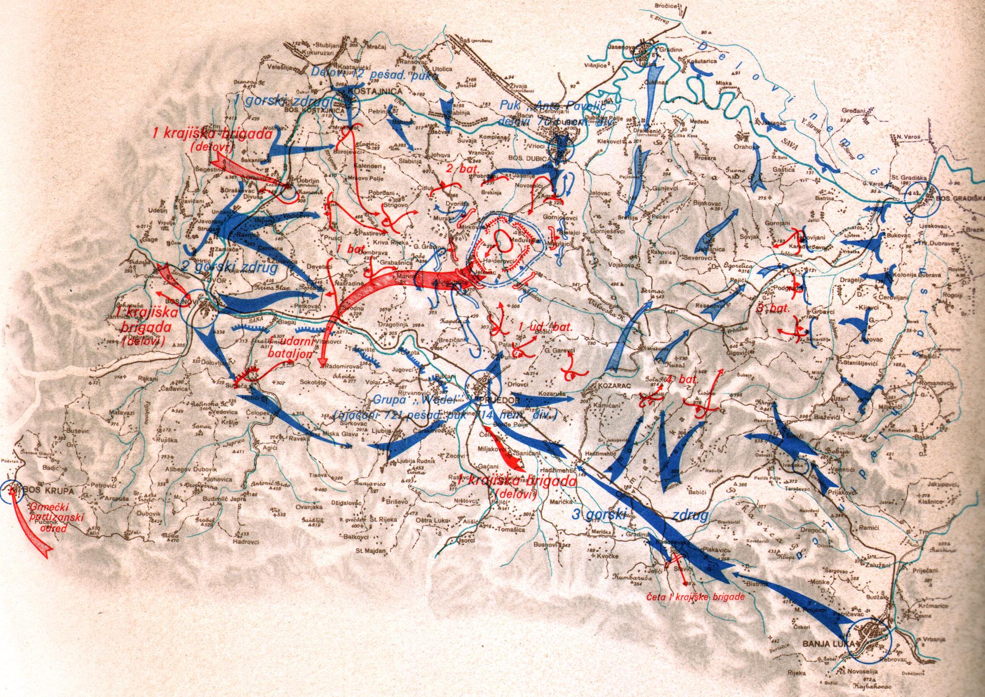Битка на Козари — Википедија, слободна енциклопедија