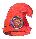 The Phrygian cap with a French tricolor cockade, symbols of the Revolution Bonnet Phrygien.png