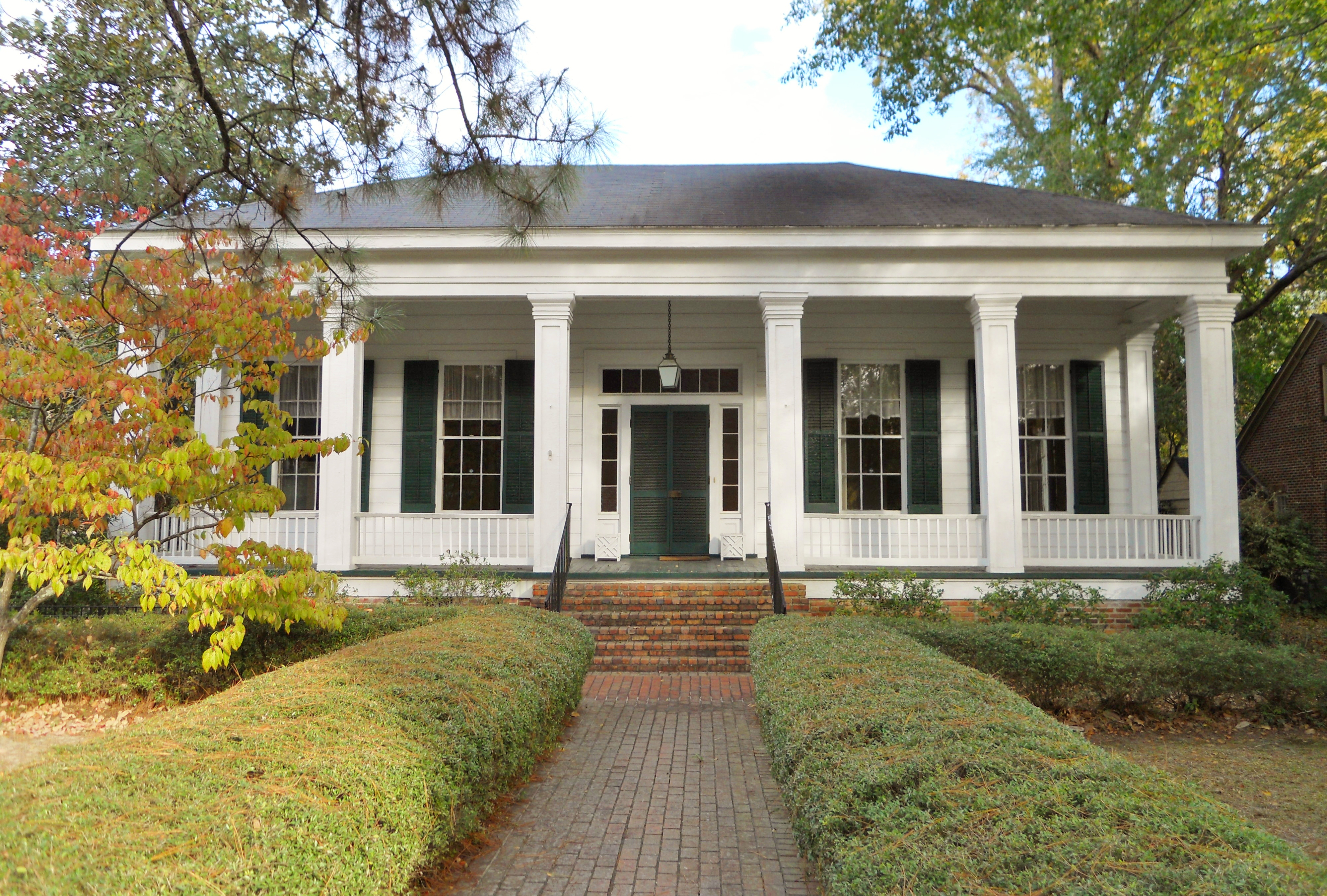 nice house builders in alabama #4: The Bray-Barron house. Classic style. | Southern Architecture | Pinterest |  Alabama, House and House building