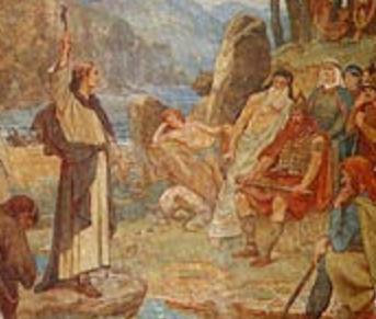 William Hole (d. 1624): Kolumbas omvendelse av kong Brude