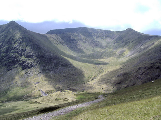 Brown Cove from Red Screes, Keppel Cove - geograph.org.uk - 1532719