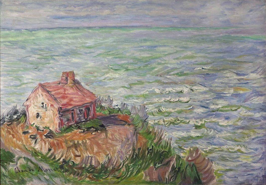 File:Cabane des douaniers, effet d'après-midi (Claude Monet).jpg -  Wikimedia Commons