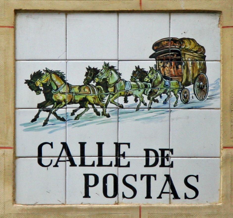Resultado de imagen de calle postas