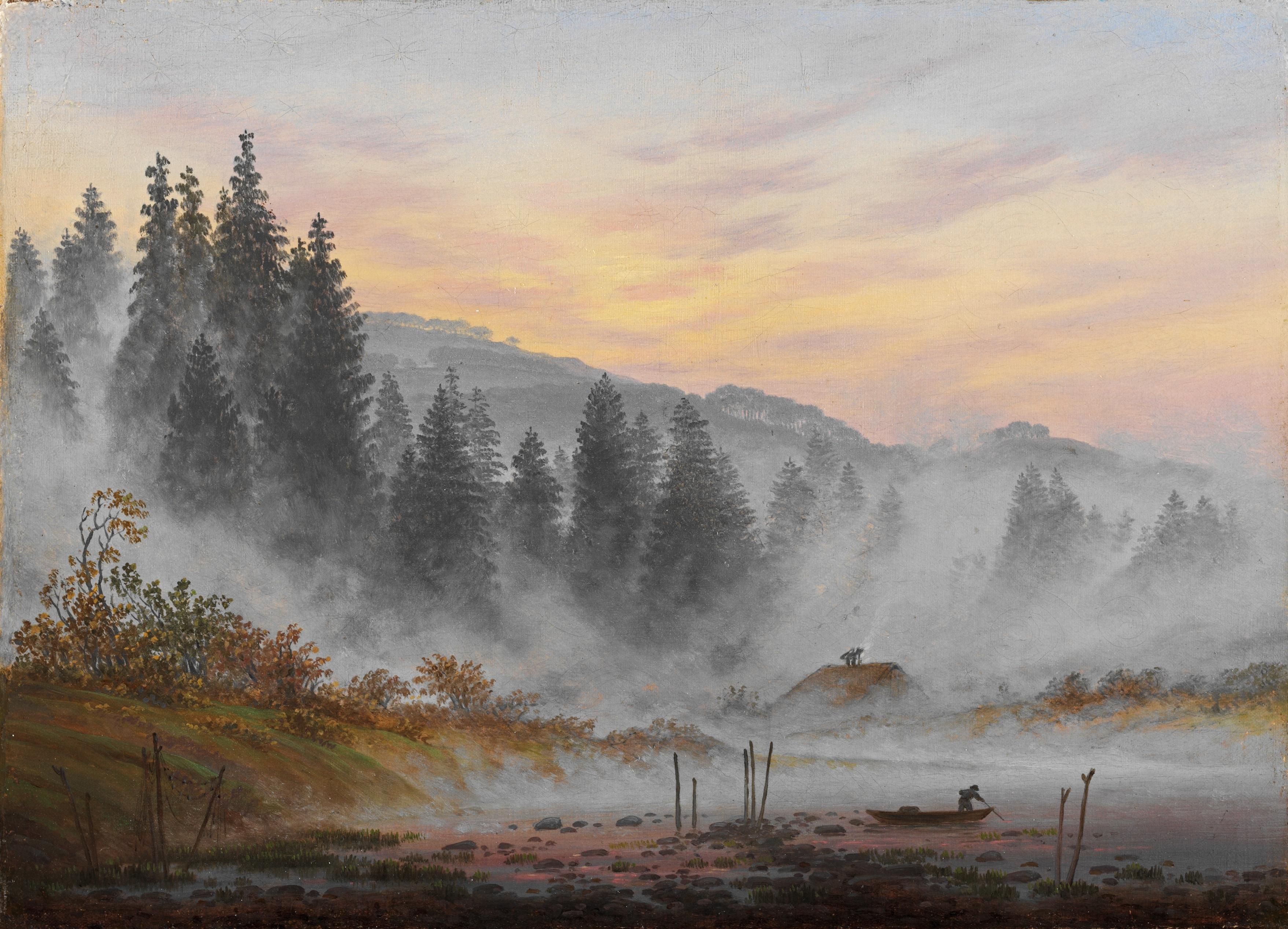 File:Caspar David Friedrich - Tageszeitenzyklus, Der