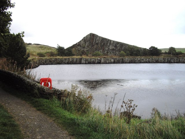 Cawfields Quarry - geograph.org.uk - 1563214