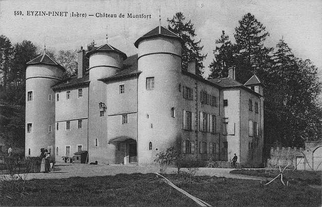 Chateau Du Montalieu St Vincent De Mercuze Restauration