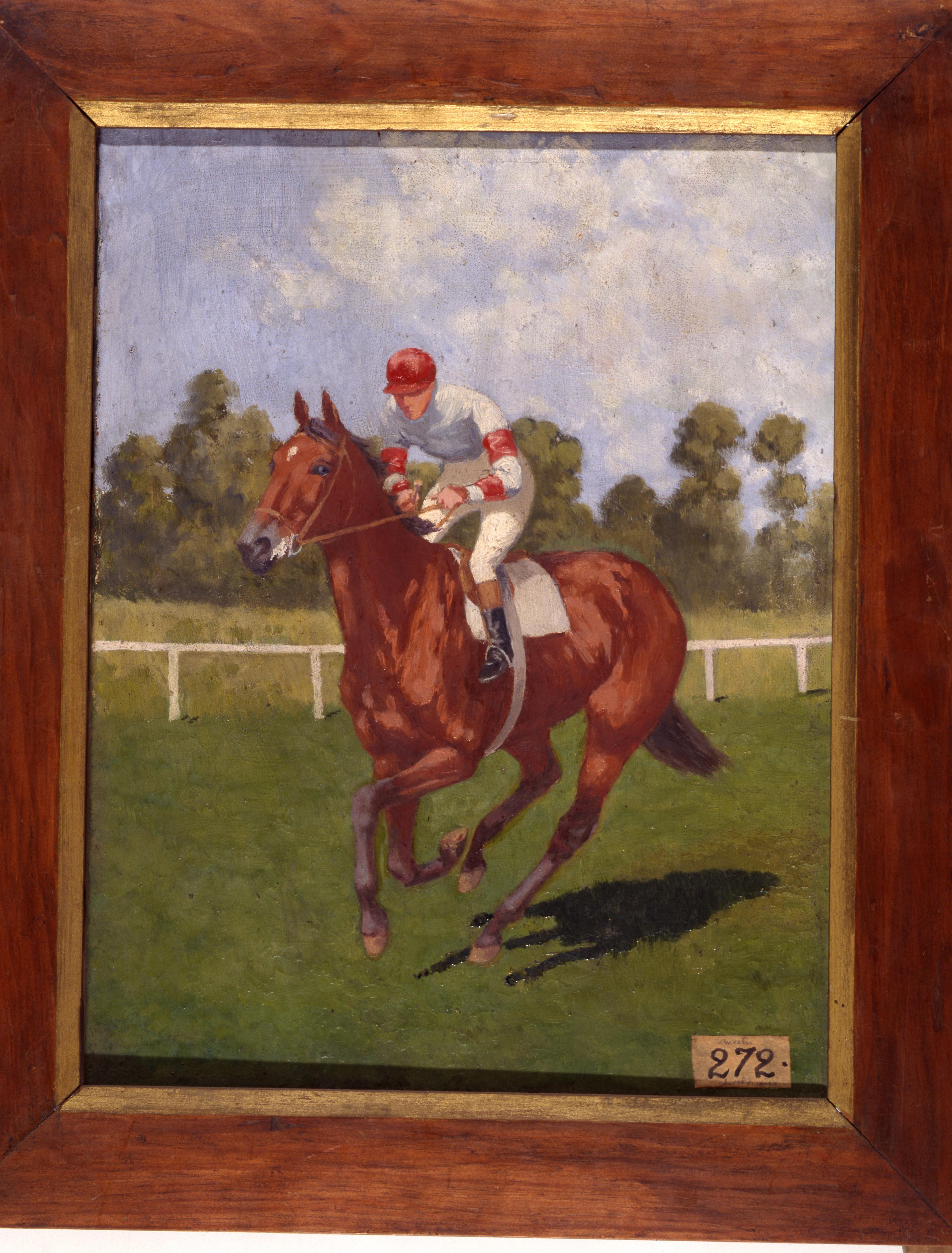 Filecheval De Course Charles Ancelin Musée Dart Et D