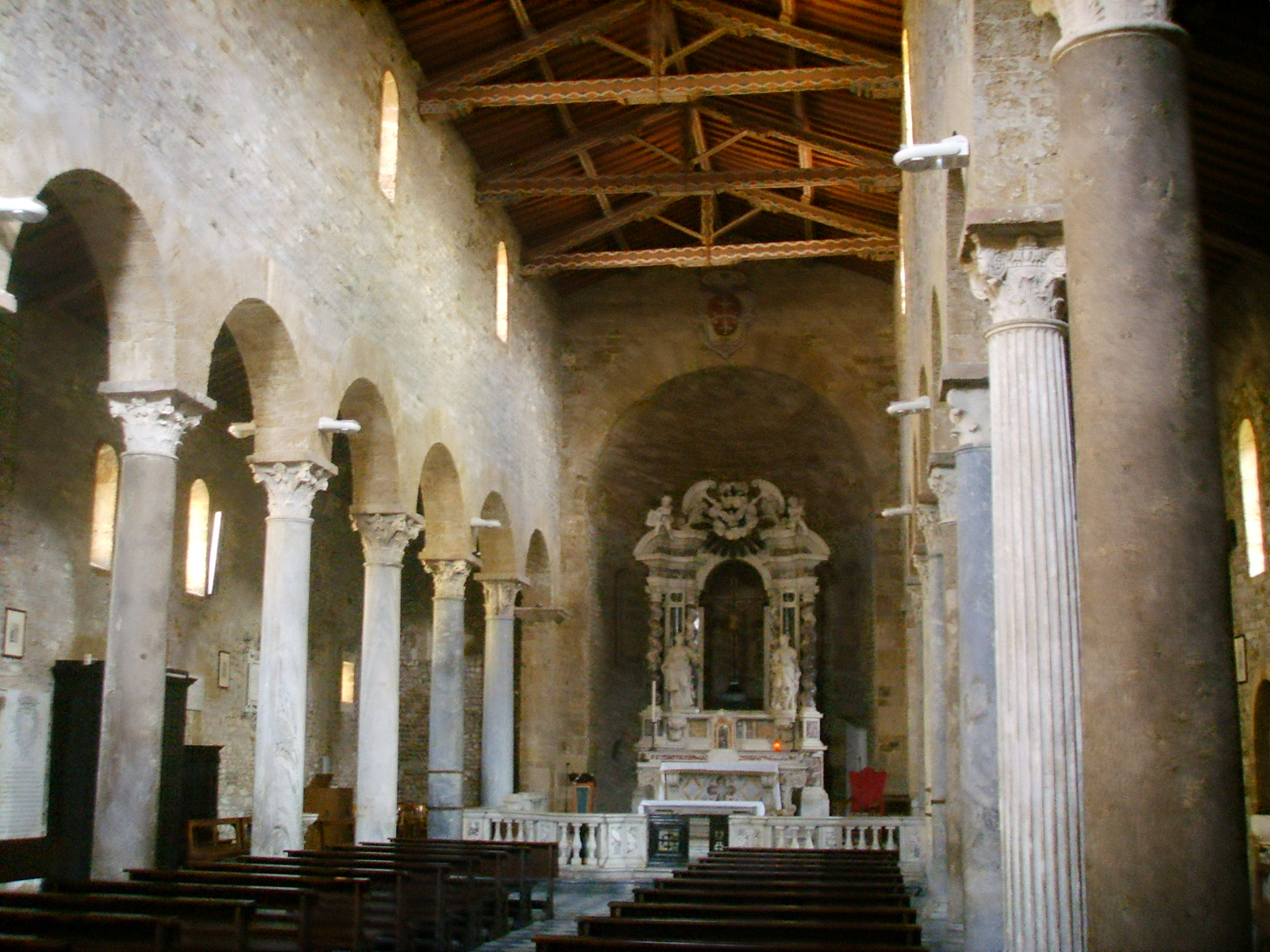 File Chiesa Di San Sisto Pisa Interno Jpg Wikipedia